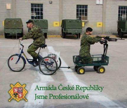 Армия Чешской Республики: мы - профессионалы