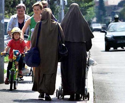 Мусульманские женщины в Германии