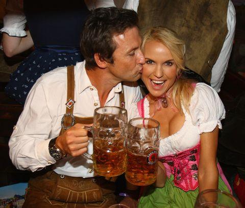 Праздник пива - это, в первую очередь, романтика