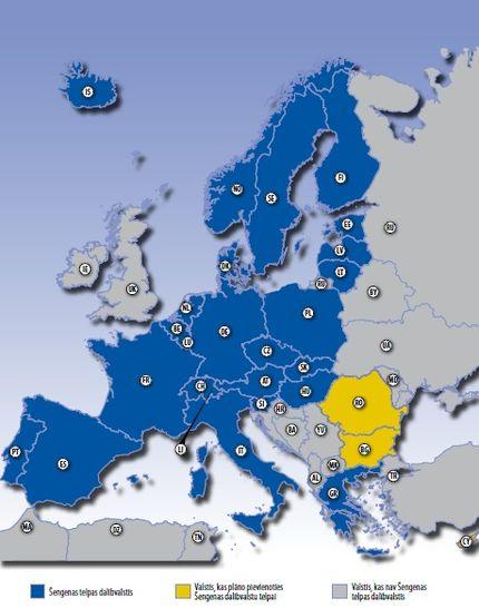 Schengen Agreement / Шенгенский союз